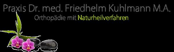 Praxis Dr. med. Friedhelm Kuhlmann M.A. - Orthopädie mit Naturheilverfahren in Köln