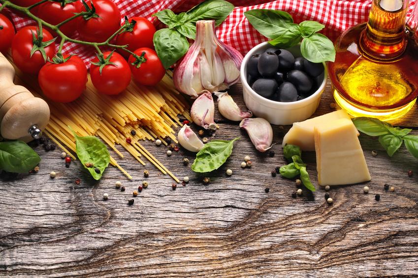 Gemüse und Öl
